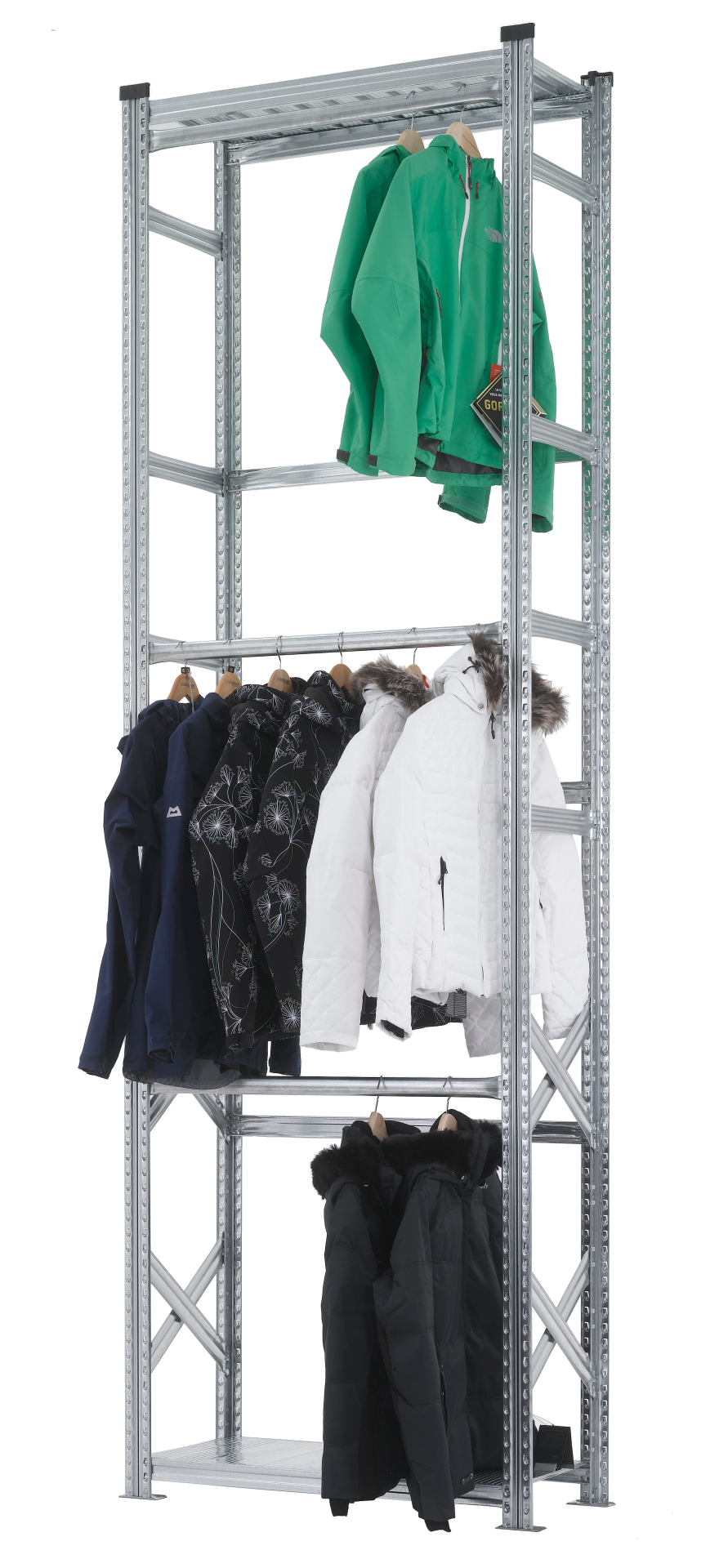 Garment Hanging Rails